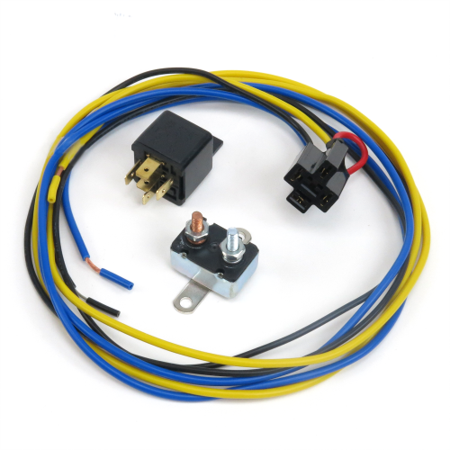 High Amp Horn Driver Relay with Plug in Harness and Circuit Breaker instructions, warranty, rebate