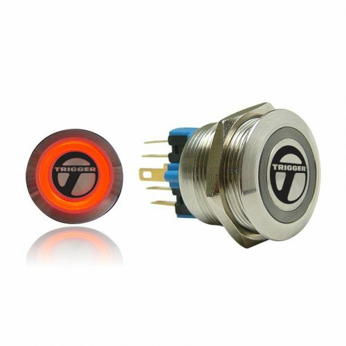 Trigger Billet Button :: Red Illumination instructions, warranty, rebate