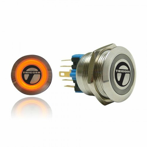 Trigger Billet Button :: Orange Illumination instructions, warranty, rebate