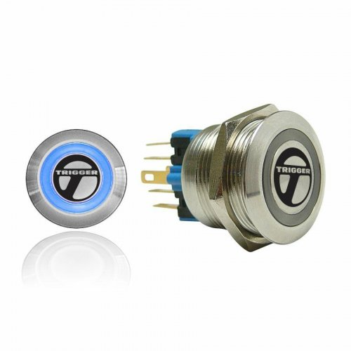 Trigger Billet Button :: Blue Illumination instructions, warranty, rebate