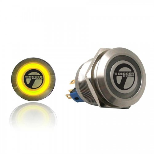 Trigger Billet Button :: Yellow Illumination instructions, warranty, rebate
